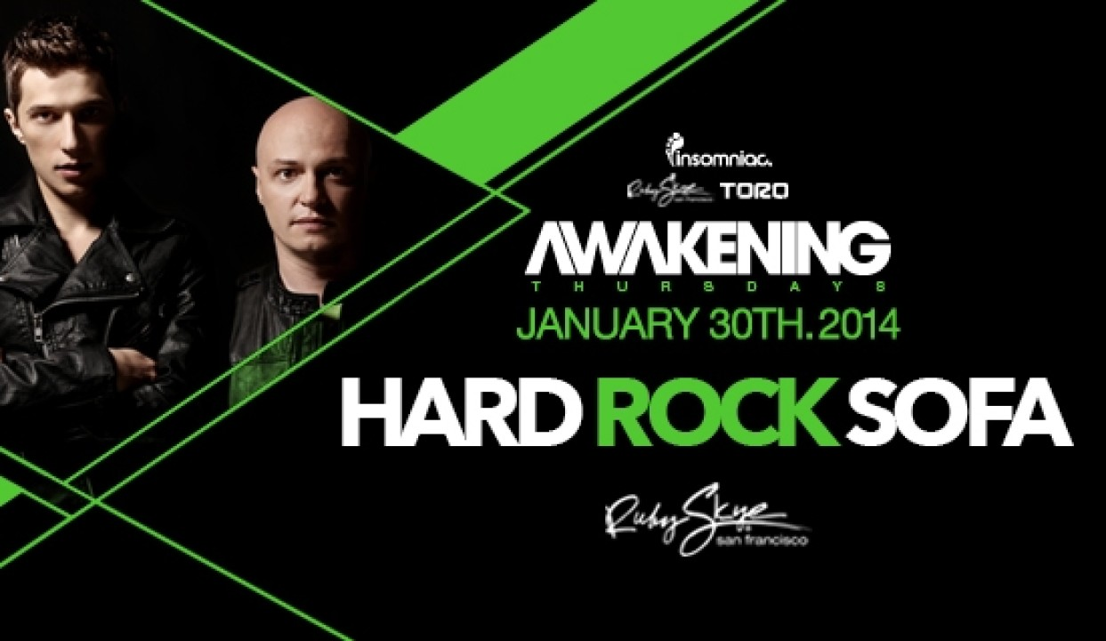 Event Review: Hard Rock Sofa @ Ruby Skye