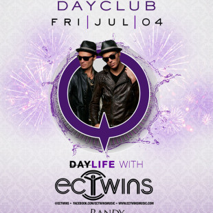 EC Twins at Marquee Dayclub July 4th
