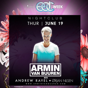 Armin Van Buuren at Marquee – Night June 19th
