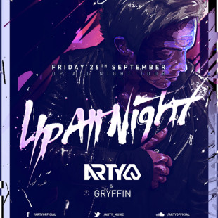 Preview Event – Arty at Ruby Skye San Francisco Sept 26th