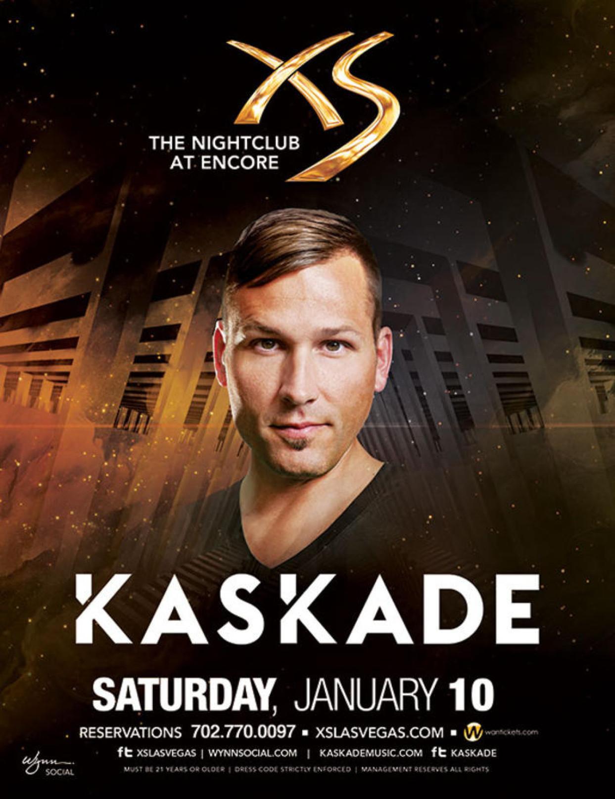 Kaskade Show Preview XS Las Vegas Sat Jan 10th