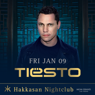 Join us this Friday Jan 9th for Tiesto at Hakkasan