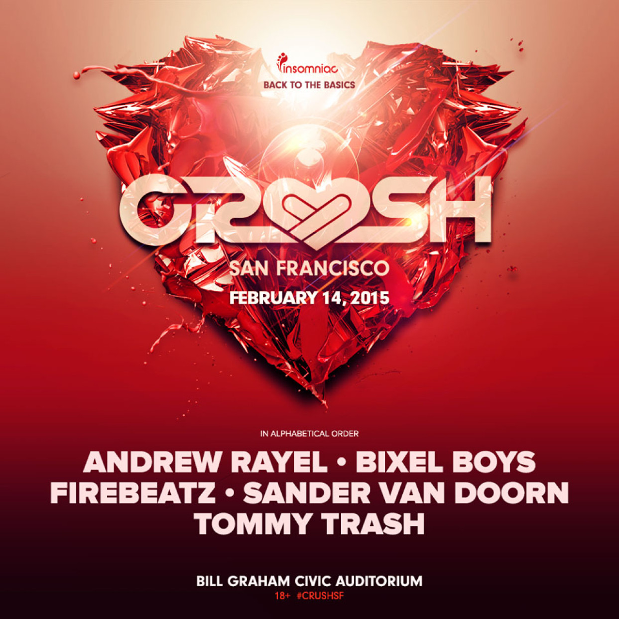 Crush San Francisco with Andrew Rayel Event Review