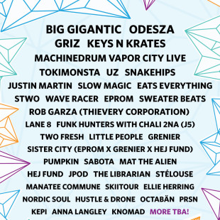 Big Gigantic, Odesza headline What The Festival 2015 Dufur