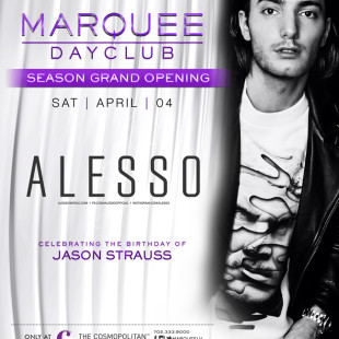Alesso at Marquee Las Vegas Debut