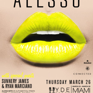 Alesso Hyde and SLS Pool Part Miami 3/26