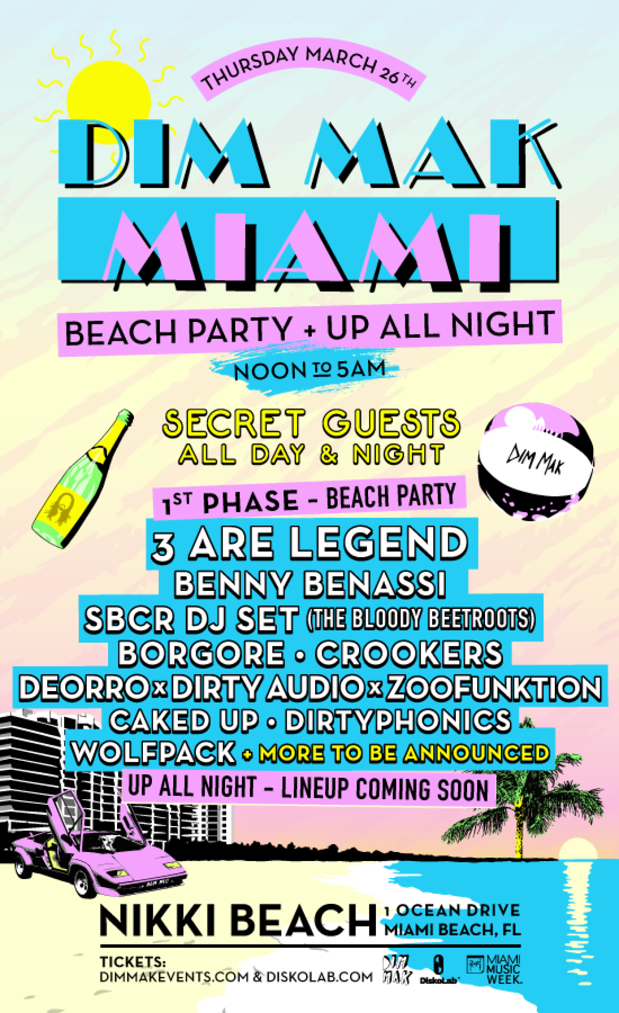 Dim Mak Miami 2015 Preview