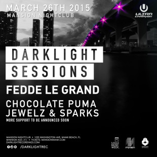 Fedde Le Grand Darklight Sessions Miami Preview
