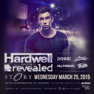 Revealed Miami at Story March 25 Preview