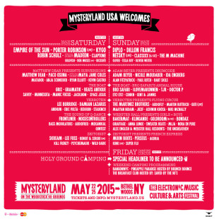 Mysteryland USA Releases Lineup