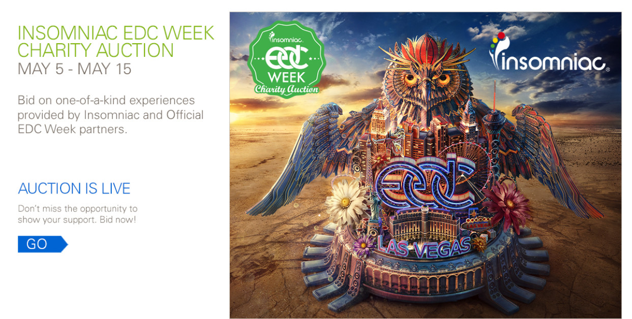 EDC Once in a Lifetime Auctions
