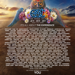Insomniac Reveals Artists for EDC
