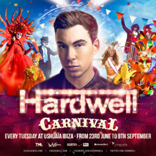 Hardwell 12-week return to Ushuaïa Ibiza