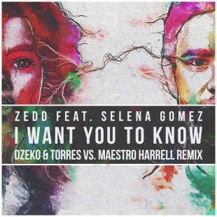 "Dzeko & Torres remix Zedd ""I Want You To Know"""