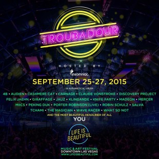 Insomniac and Life Is Beautiful Festival