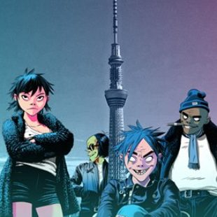Gorillaz to debut their new record 'The Now Now' live from the Boiler Room in Tokyo
