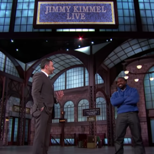 Watch Kanye West Discuss His 'Service to God' on 'Kimmel'